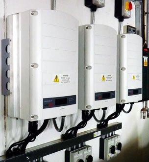 Commercial Solar Upgrade inverter