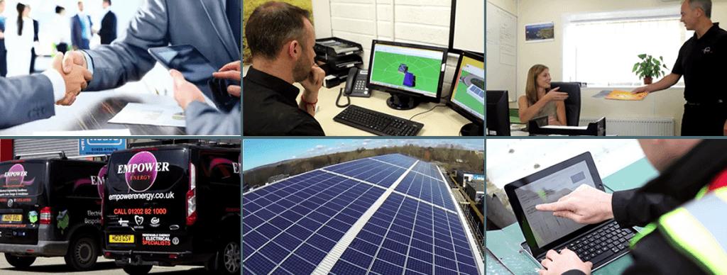Solar Panel Installation Header