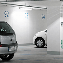Philips Green Parking LED Lighting System
