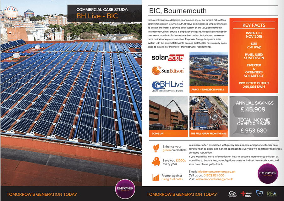 BH Live Solar Panel Specialists Case Study