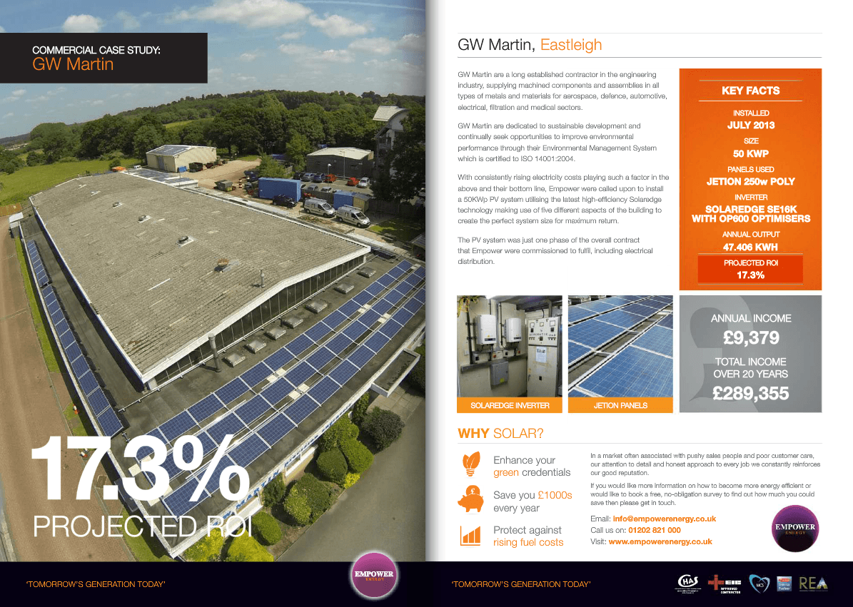olar Panels Case Study For Bayard Dairy