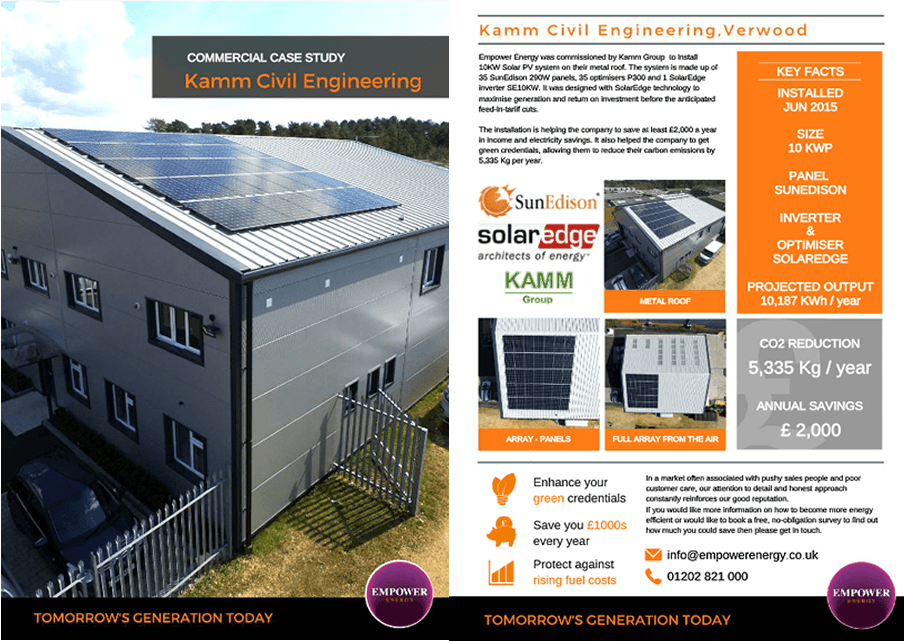 Commercial Solar Case Studies