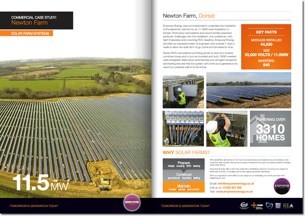 Newton Solar For Farms
