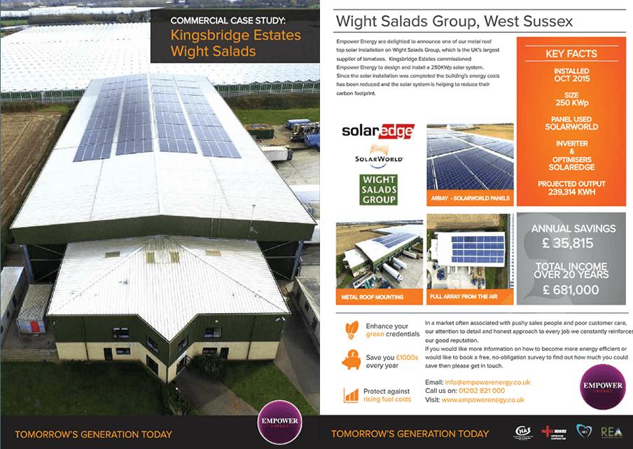 250KW Solar Panel Installer Devon
