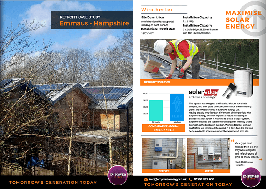 Domestic solar case study in Winchester