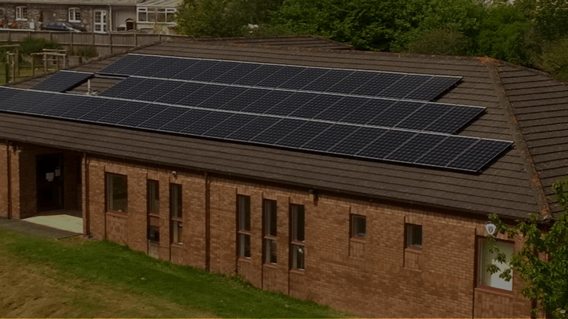 solar panels for schools