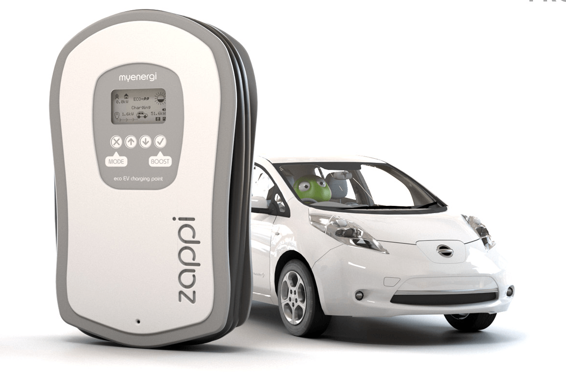 Zappi Charge Your EV With Your Solar