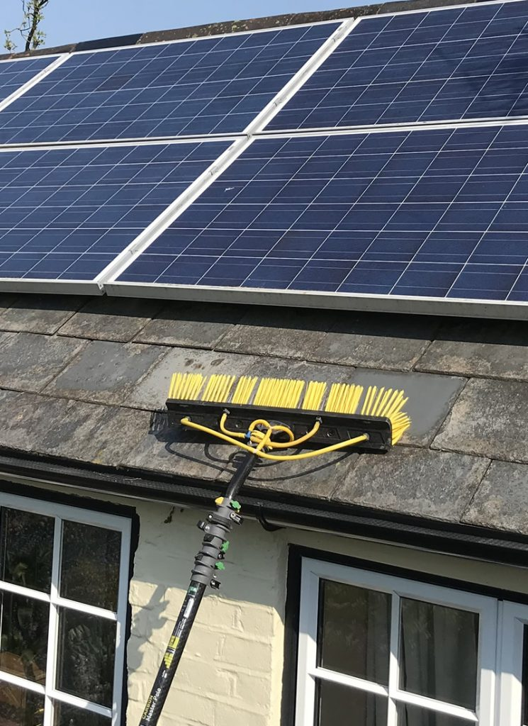 Domestic Solar Clean Amp Electrical Testing For A Client In