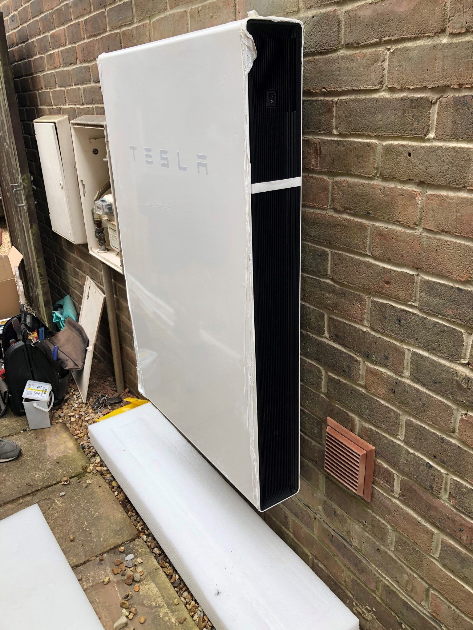 Tesla Powerwall Install At Dumpers Drove