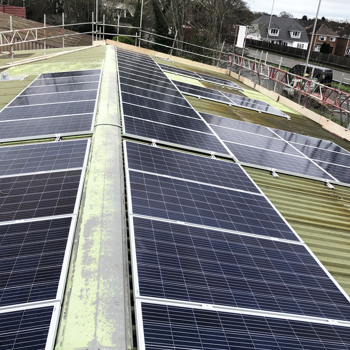 19 6kwh Commercial Solar Pv Installation At Prolec In