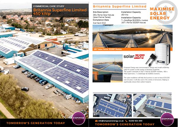 Commercial Solar Energy Systems Case Studies`