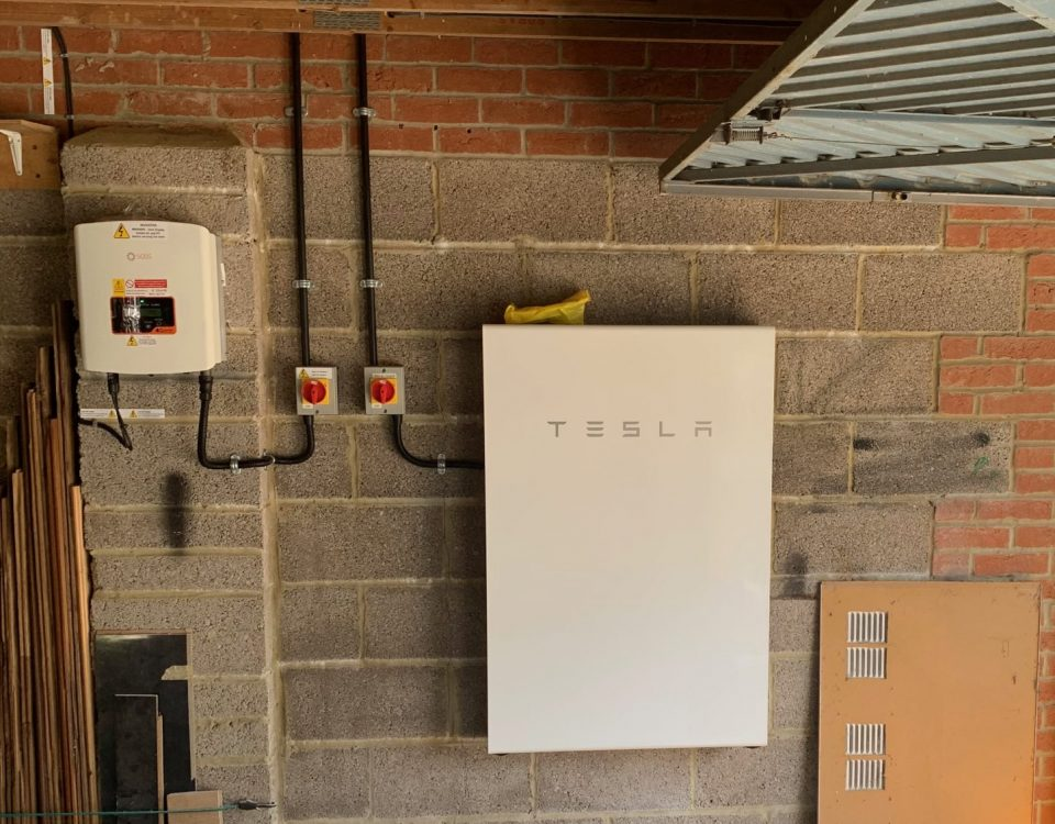 Tesla Powerwall Installation For A Customer In Dorset