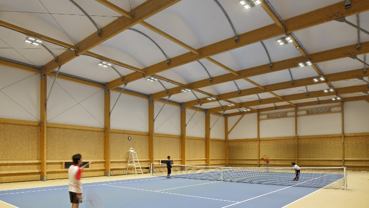 LED Sports Tennis Court Lighting