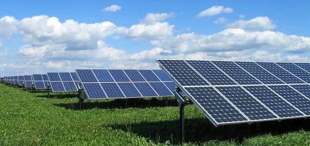 Solar Panels Farm Image