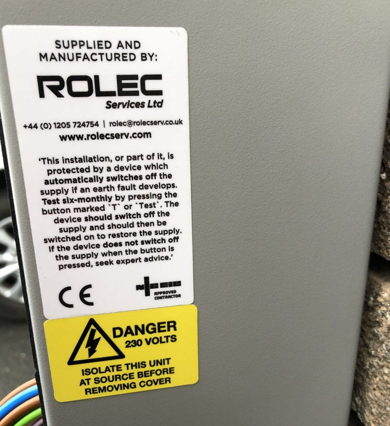 Rolec EV Charger Installation In Hampshire
