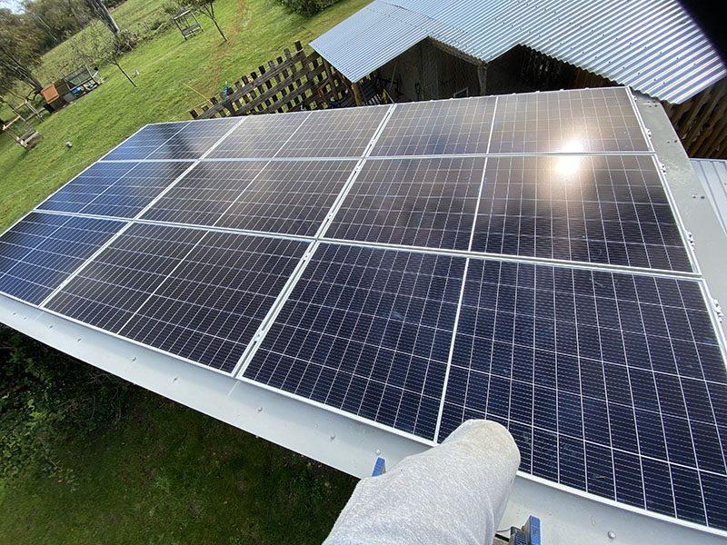 Domestic Solar Installation For Client In Dorset
