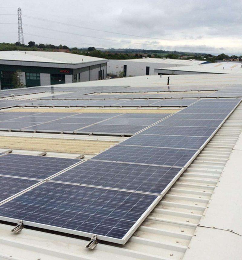 Commercial Solar Cleaning, Maintenance For A Client In Buckinghamshire