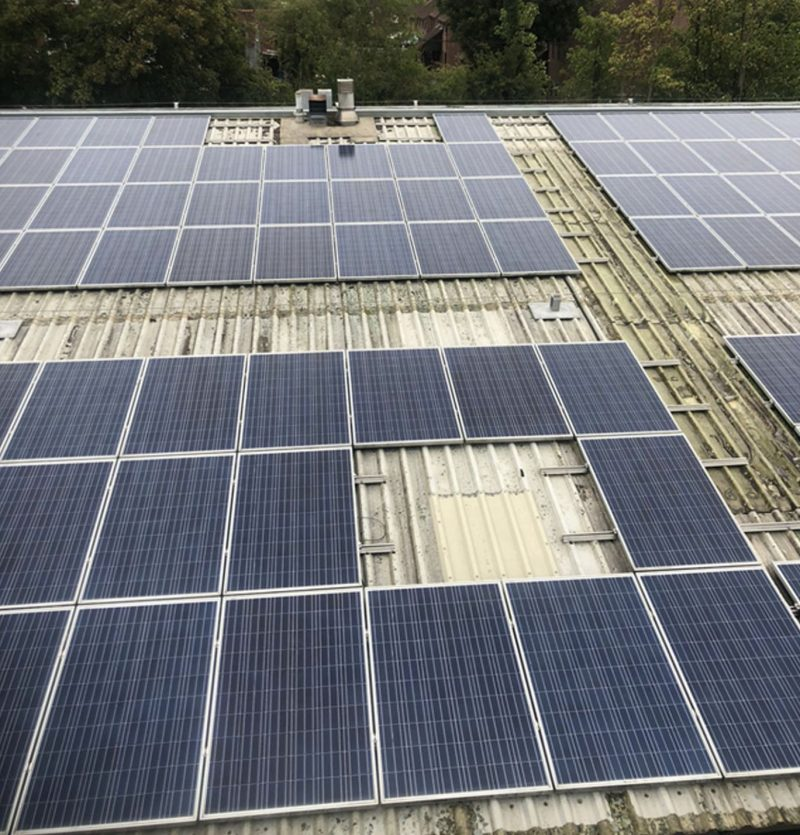 Commercial Solar Cleaning, Maintenance For A Client In West Sussex