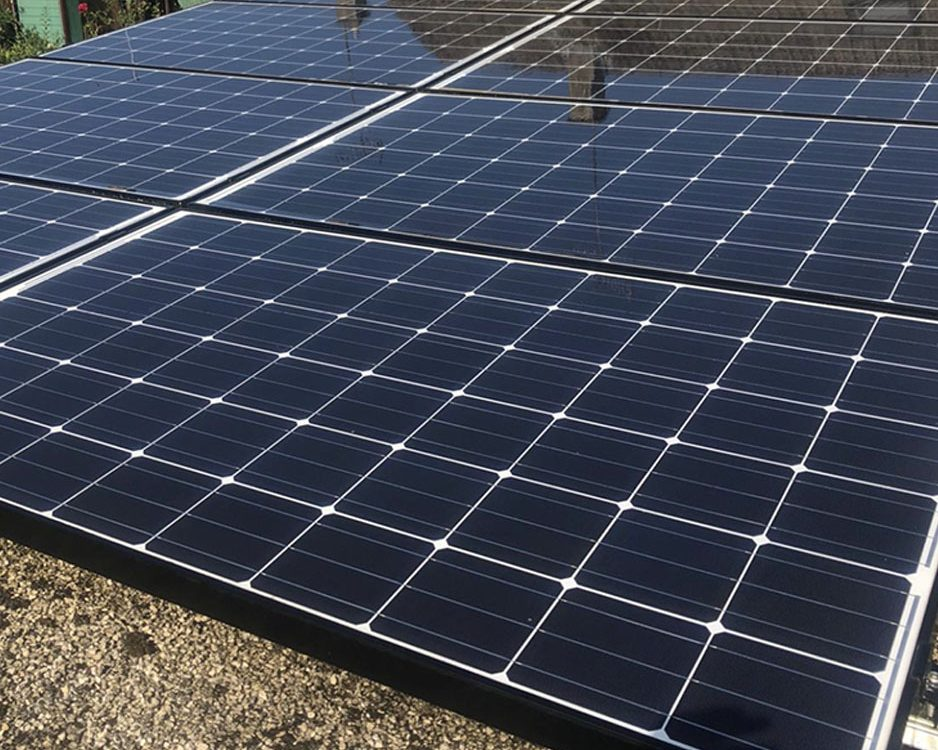 domestic solar cleaning