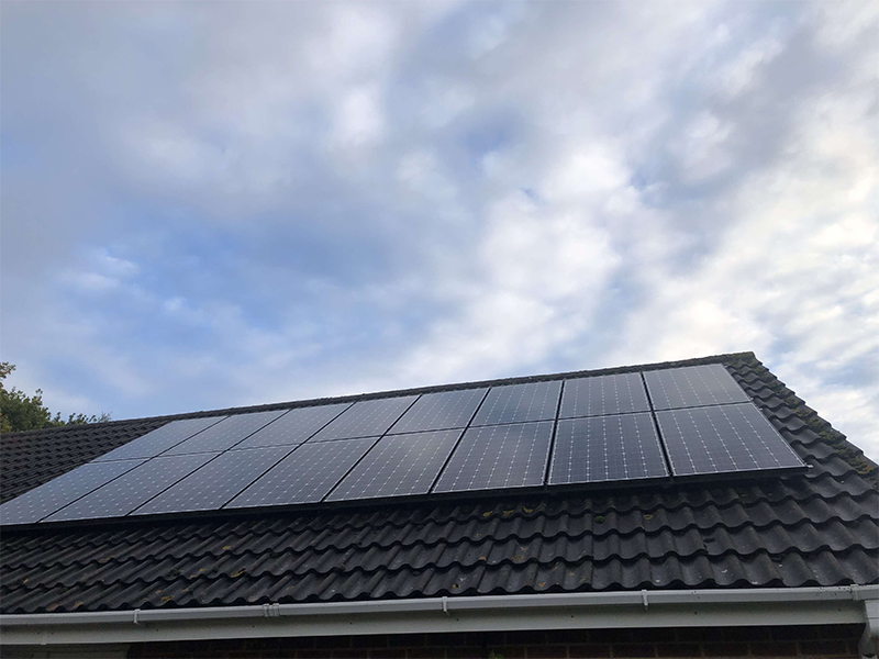 domestic maintenance on panels