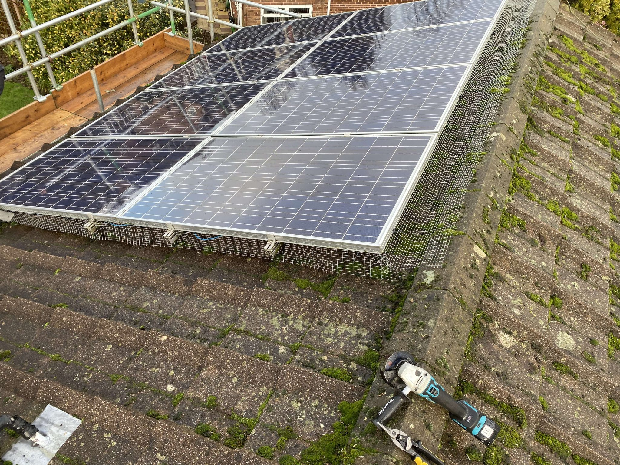 Domestic Solar Cleaning & Maintenance For A Client In  Southampton