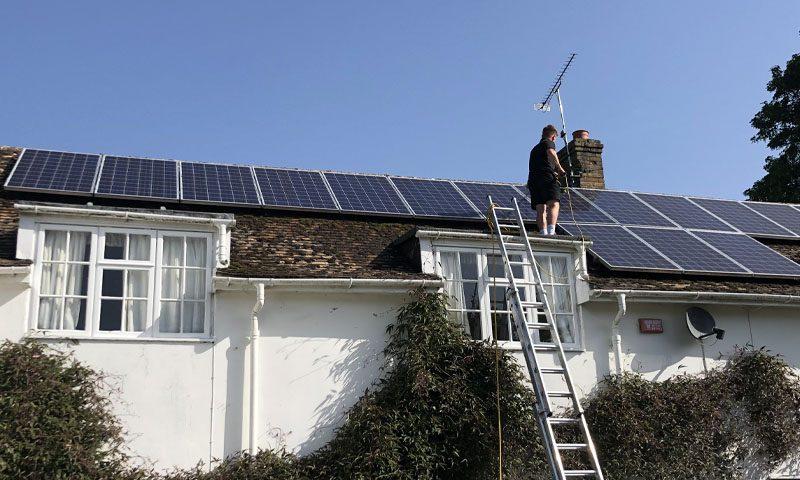 Domestic solar maintenance 2125