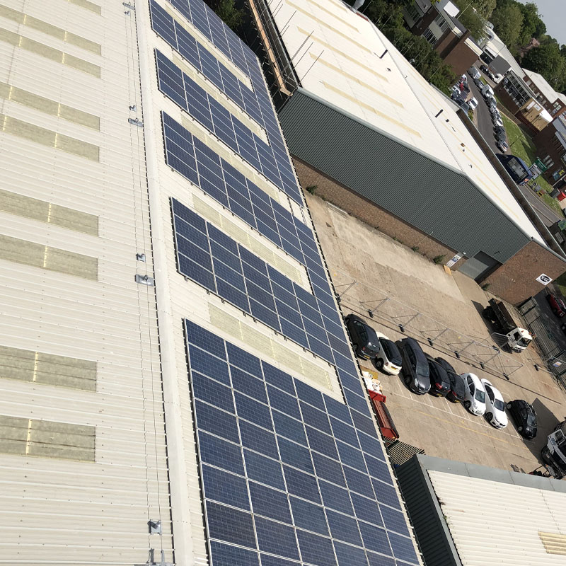 Commercial Solar panel in West Sussex