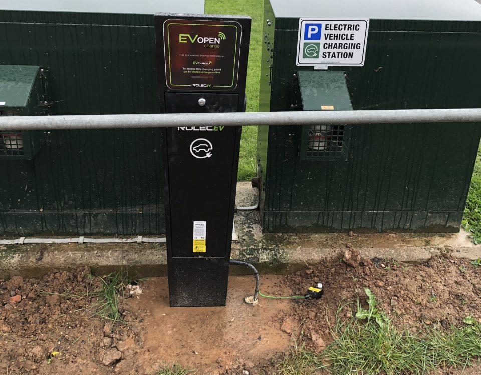 Commerciald rolec ev charger