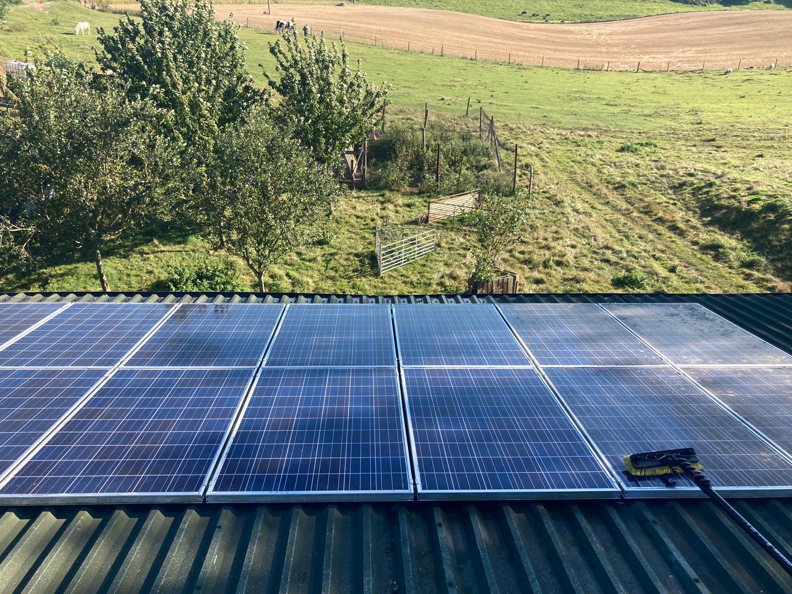 Commercial solar maintenance for …
