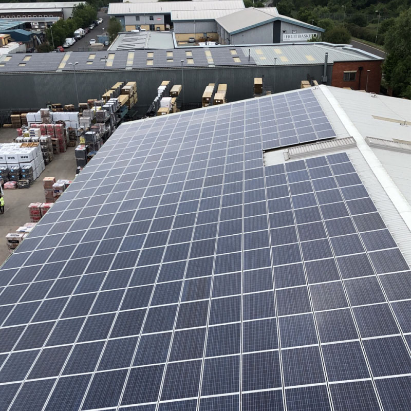 Commercial solar maintenance in Gosport