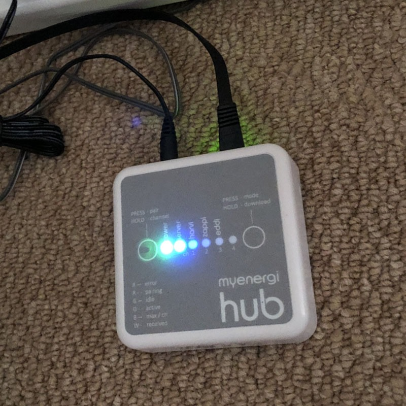 Eo hub charger installation