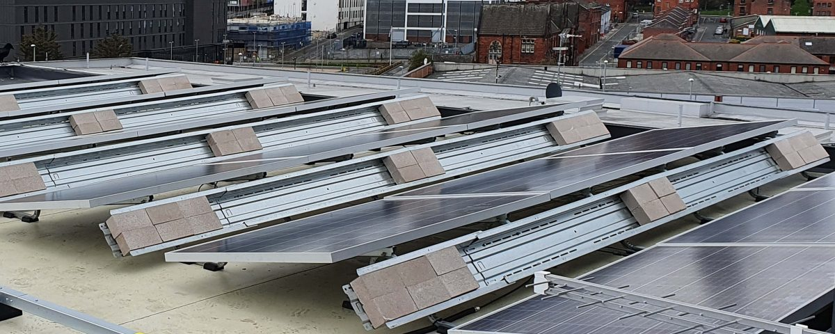Leyland house solar panel installation