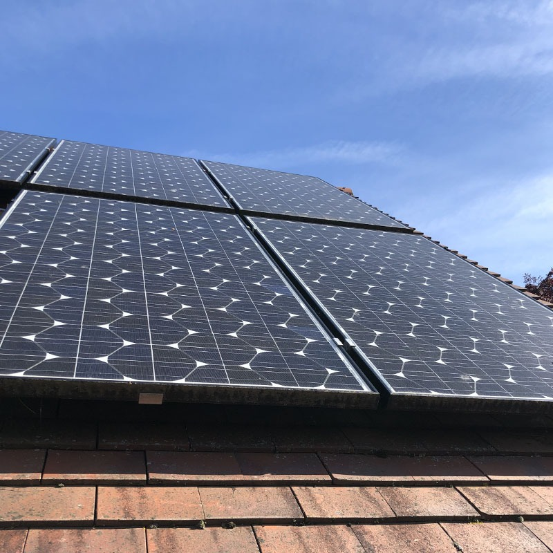 Domestic solar pv maintenance
