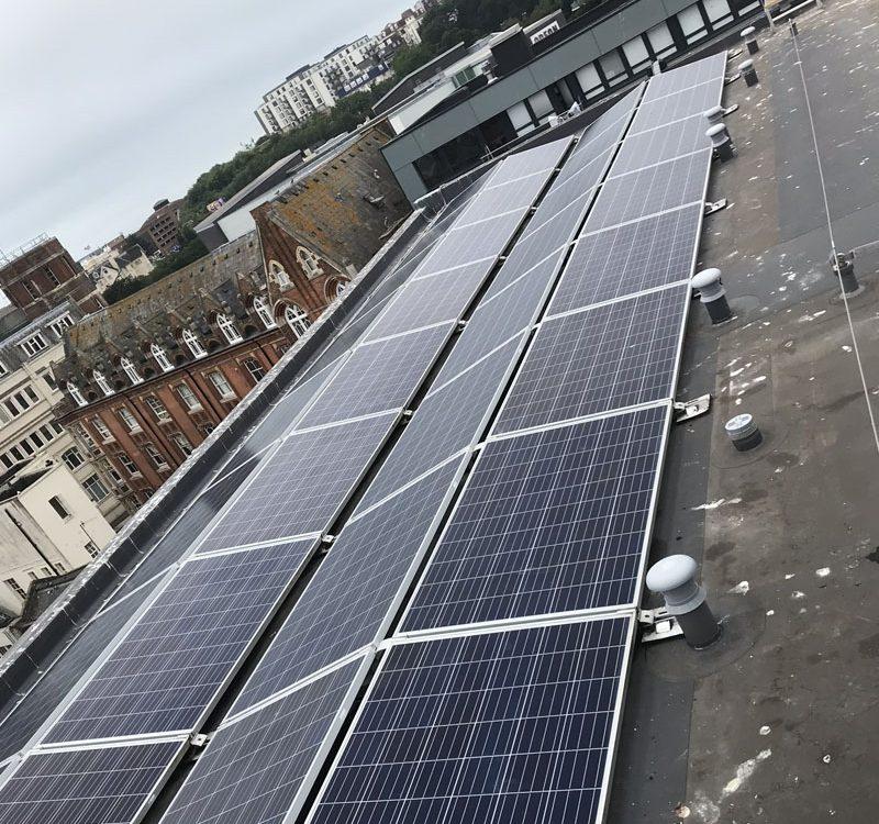 Solar maintenance clean 2206
