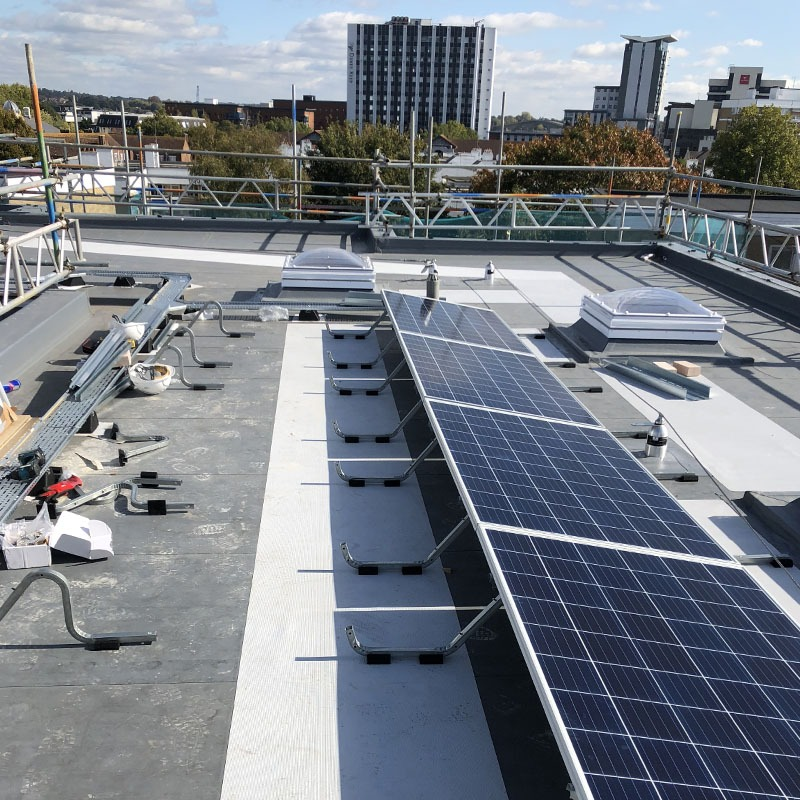 Solar install in Southampton