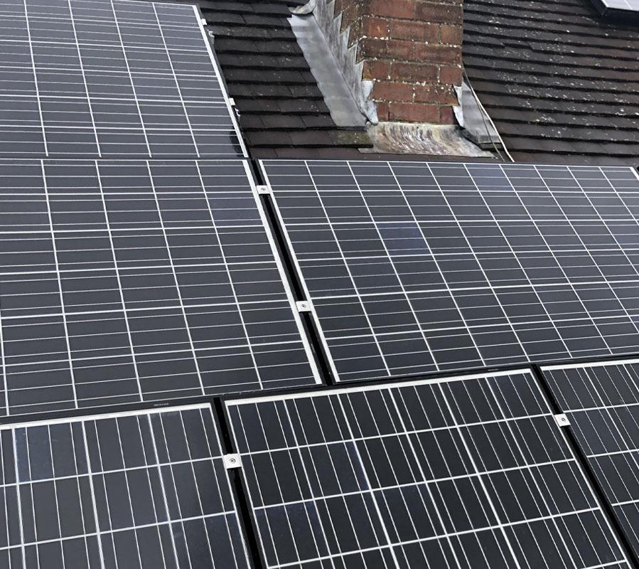 Domestic solar maintenance