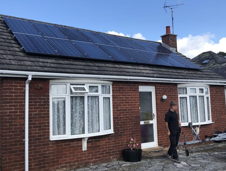 Solar maintenance in Ringwood