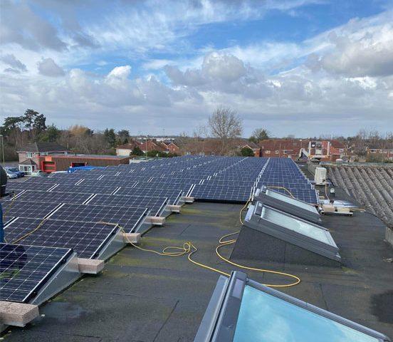 Solar panel maintnance