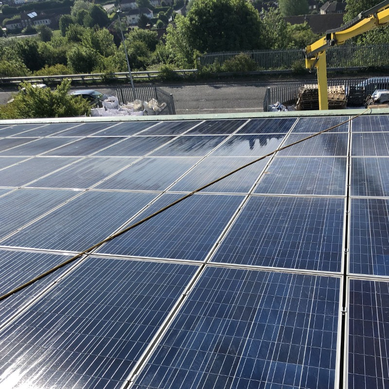 Commercial solar maintenance in Brighton