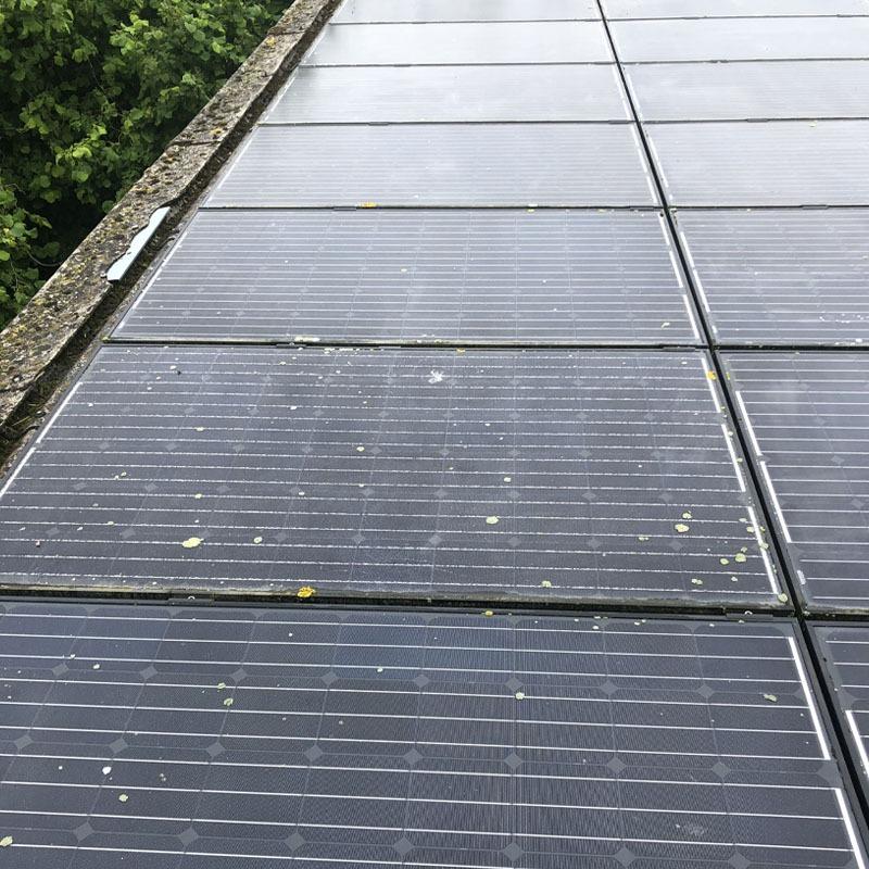 solar maintenance on panels
