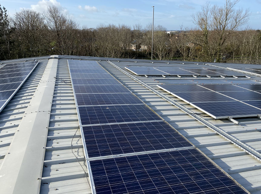 Solar panel maintenance in poole