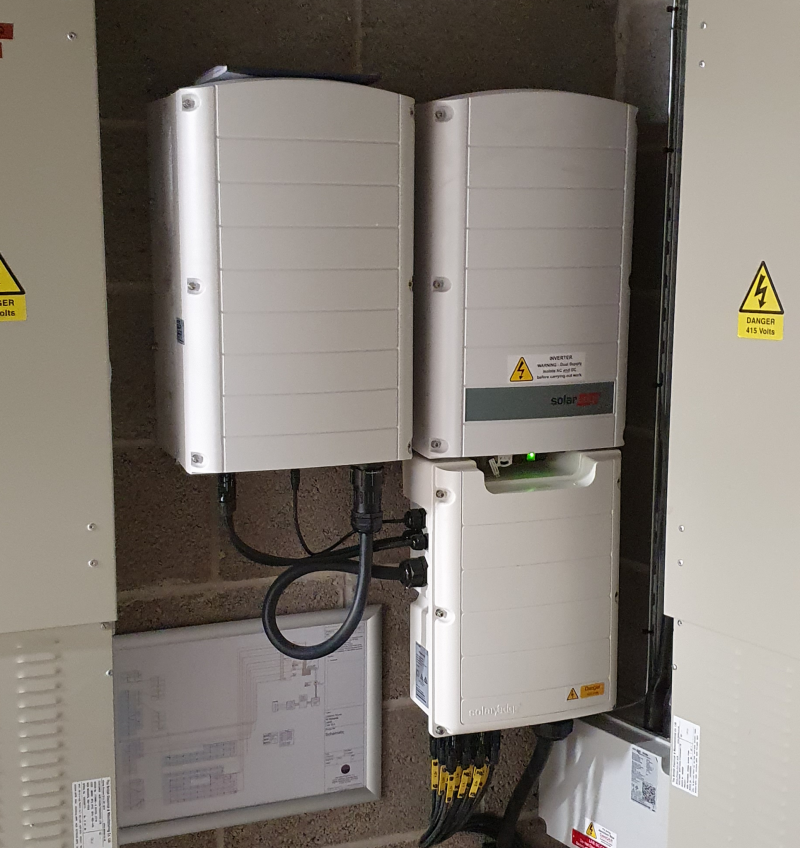 Commercial Solar Installation in Yorkshire