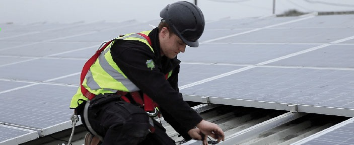 Commercial Solar Panels For Business