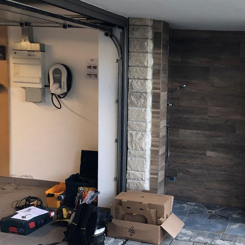 Domestic zappi install