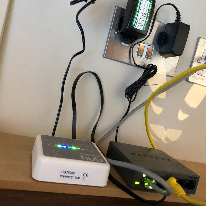 Zappi hub charger