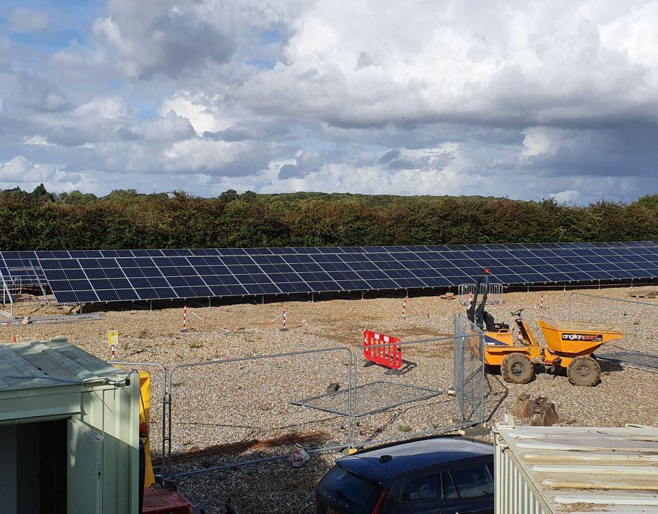 Cadent gas solar installation
