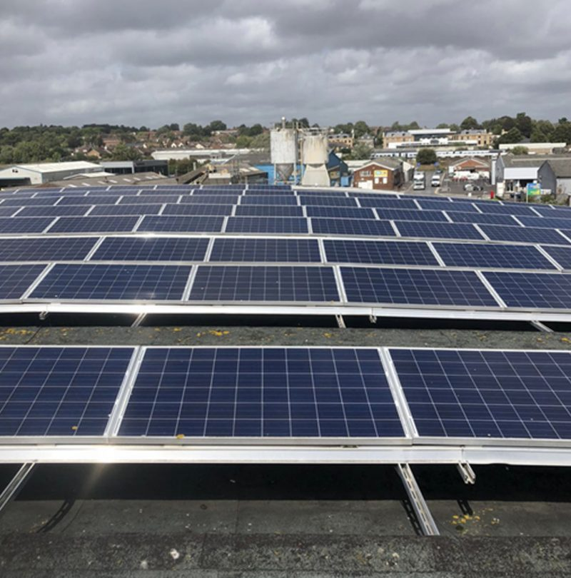Commercial Solar Cleaning, Maintenance For A Client In Wiltshire