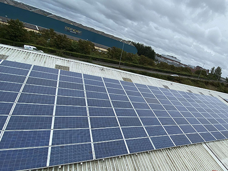 commercial solar maintenance