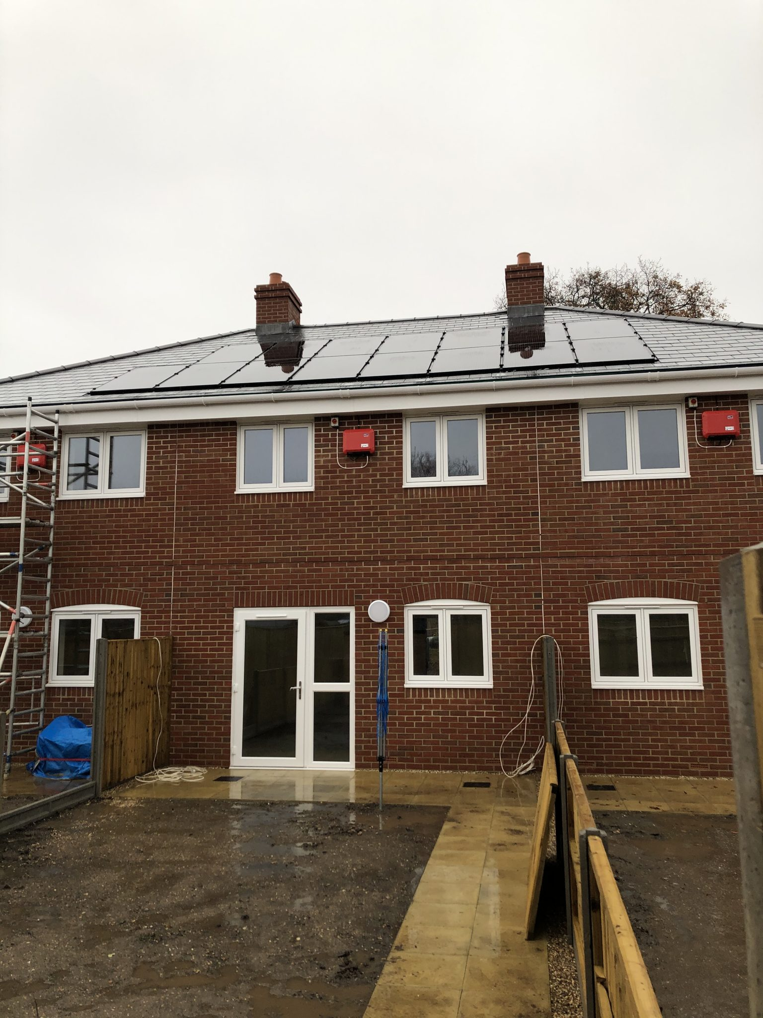 Domestic Solar Installation For Client In Dorset