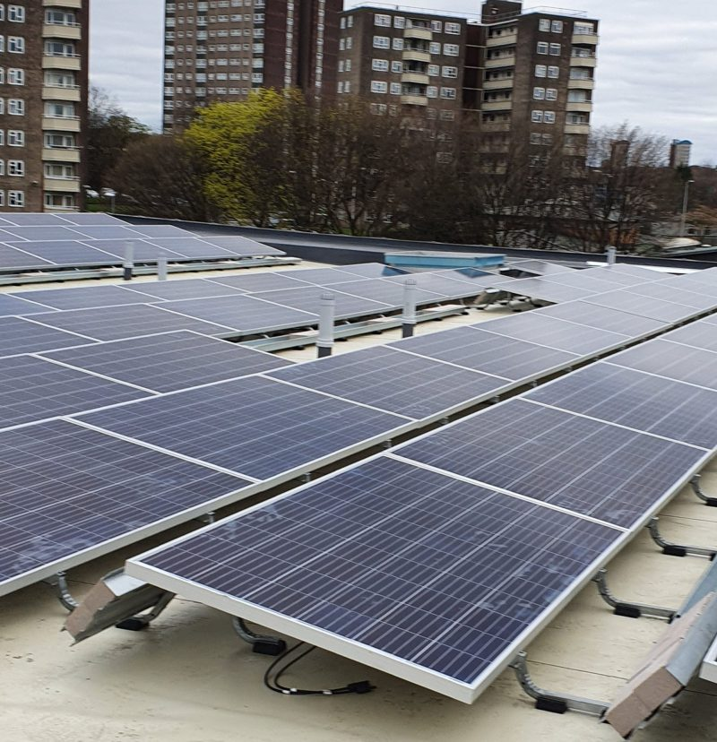 Commercial Solar Installation in Lancashire